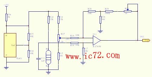 温度控制系统的信号采样放大及a/d转换电路设计