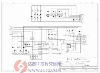 电路图:dv520 key protel