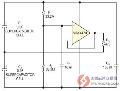 小电流有源均衡电路可用于能量采集应用