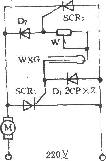电风扇温控调速电路(一)