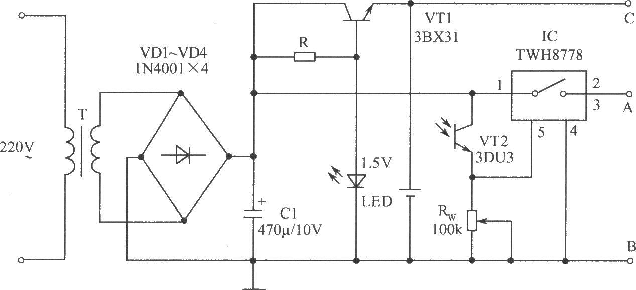 光敏二极管电路图