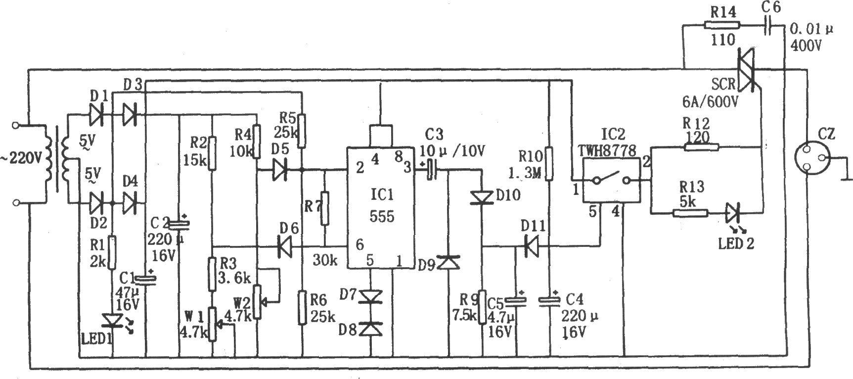 tda7297电路图