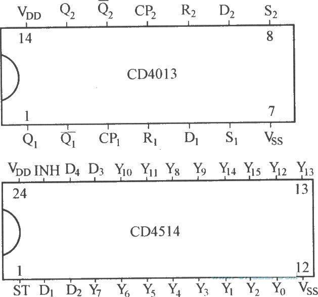 cd4013是双稳态集成电路.