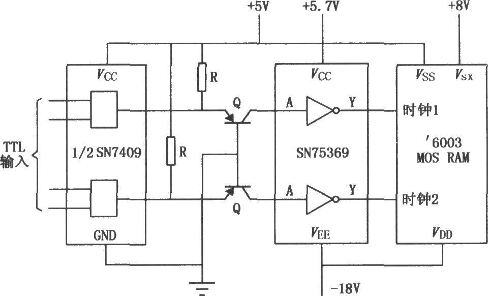 sn75369是用于ttl电路与大电流高电压之间的通用接口,具有反相的逻辑